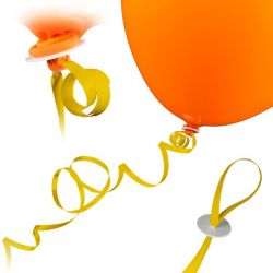 """Bildbeschreibung von """"Ballon Band (Schnur)""""."""